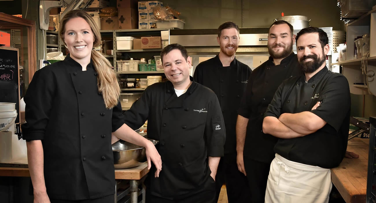 Thyme & Again – Chefs