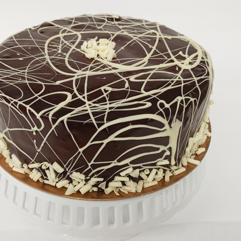 Salzburg Poppyseed Cake With Chocolate Frosting