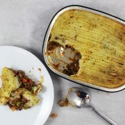 Lentil & Vegetable Shepherd's Pie