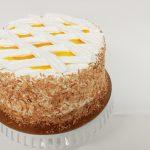 Mango Coconut Meringue Cake
