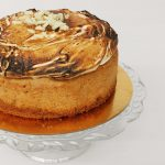 Pumpkin Cheesecake with Toasted Marshmallow