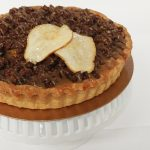 pear port chocolate crumble tart