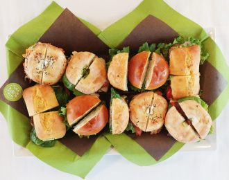 Fresh Thyme (Sandwiches, 2 Seasonal Salads, Assorted Squares)