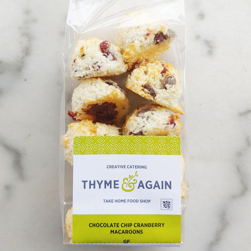 Cranberry Chocolate Chip Macaroons (Packaged)