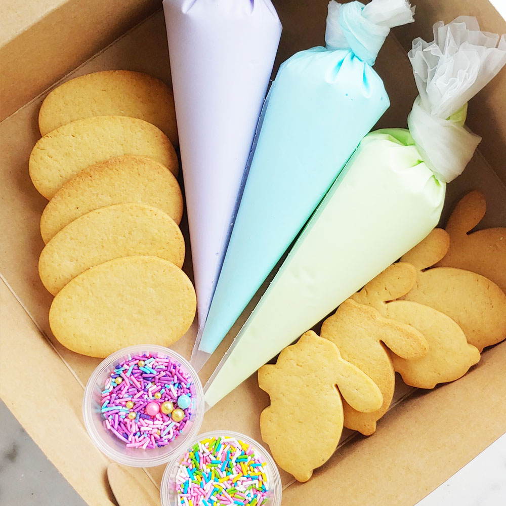 Easter Sugar Cookie Decoration Kit